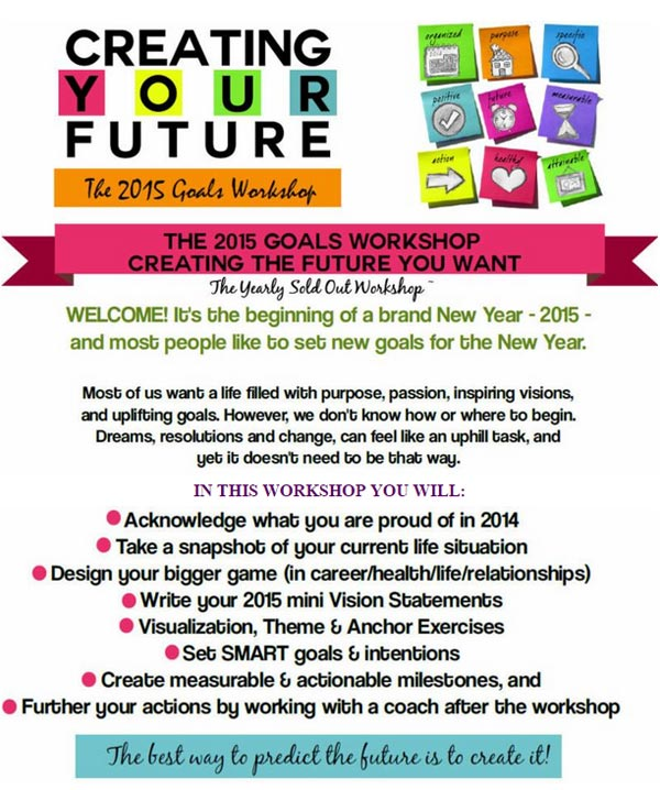 2014 Vision Board Workshop with Nidhi Gupta